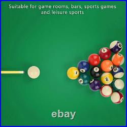 16Pcs/Set Billiard Ball Complete 2.3in Resin Pool Table Indoors Sports Accessory