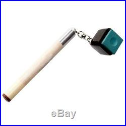 20X2 in 1 Pocket Pool Snooker Billiard Chalk Holder Cue Table Accessory