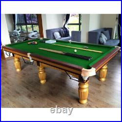 2x Premium Pool Table Cloth Snooker Table Accessory for 9ft Billiard Table