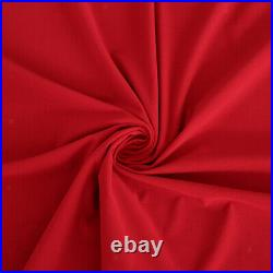 2x Wool Blend Billiard Pool Table Cloth Snooker Table Felt Accessory Red