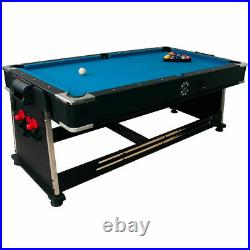 3-in-1 Multi Games Table Pool Air Hockey Tennis Accessories Included Sure Shot