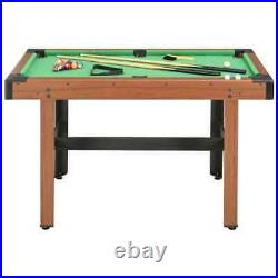 4 Feet Billiard Table Pool Table Set Indoor Game Short Practice with Accessories