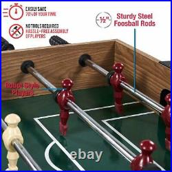 48 3 In 1 Combo Game Table, Pool, Hockey, Foosbal, Accessories Included