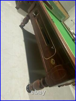 6 & 7ft Slate Bed Pool Tables Fully Refurbed & Ready To Go With New Accessories