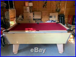 6 ft Slate Bed Pool Table and accessories