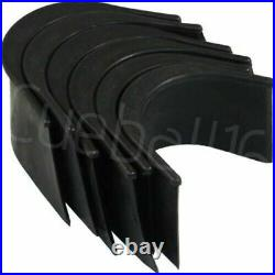6 x REPLACEMENT UNIVERSAL POOL TABLES RUBBER POCKETS / LINERS & 30 TACKS / NAILS