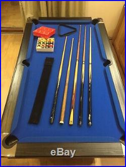 6FT AUTOMATIC BALL RETURN SYSTEM POOL TABLE WITH ACCESSORIES + Optional Delivery