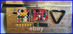 6FT Folding Billiards Table Snooker Table Set with All Accessories