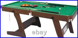 6FT Folding Snooker Table with ALL Accessories