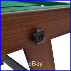6FT Snooker/Pool Table Folding Billiards With Balls And Other Accessories