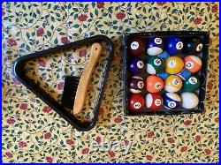 6ft BCE Le Club folding pool table with accessories