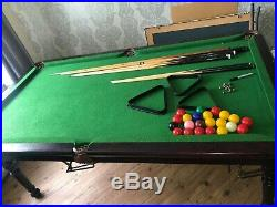 6ft Snooker / Pool Table & Accessories