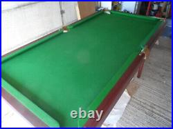 6ft X 4ft pool/snooker table with accessories