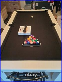 6ft slate bed pool table & Accessories
