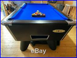 6ft supreme winner slate bed pool table free play + accessories great condition