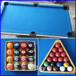 6ft x 3ft Pool/Snooker Table With Auto Ball Return. All Accessories Included