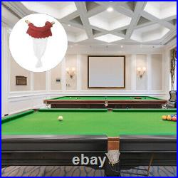 6pcs Billiard Pockets Pool Table Accessories Bags Pockets Replacement Set