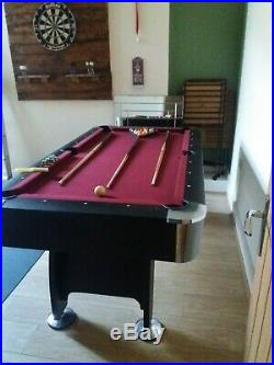 6x3 pool table, Immaculate Condition, Very Sturdy, All Accessories Included