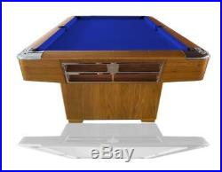 7FT Modern Pool Table Slate Bed Europool Free Accessories Custom Cloth Options