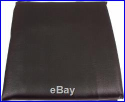 7ft Black Leatherette Pool/ Snooker Table Cover