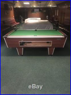 7ft Pool Table. New Cloth Fitted. Coin operated