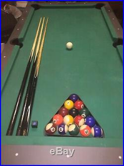 7ft Pool/snooker Table & Accessories (Excellent condition)