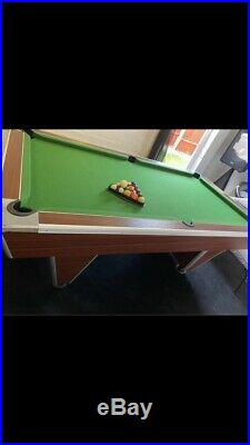 7ft Supreme Pool Table Slate Bed & Accessories