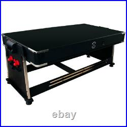 7ft Sure Shot 3-in-1 Pool Air Hockey & Table Tennis Games Table & Accessories UK