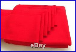 7x4 Pro Quality Nap Wool Bed Cloth & 6 x Cushion Strips for 7ft UK Pool Tables