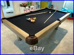 8FT Pool Dining Table Billiard Multi Games Table Free Accessories RADLEY PRIME