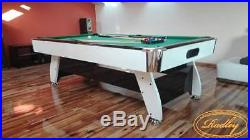 8FT Pool Table Radley Diamond in High Gloss Finish Multi Games Free Accessories