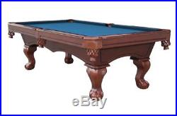 8FT Savanah Classic American Pool Table Slate Bed Solid Wood Free Accessories