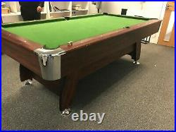 8ft Pool Table with Accessories 8 FT Modern Pool Table Green Billiards