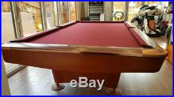 9 ft Dynamic Bilard American Pool Table used Accessories included