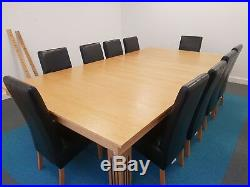 9ft American pool and dinning table with 10 chairs including pool accessories