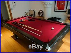 America Pool table 7ft x 4ft Slate Bed made by Buffalo (full accessories)