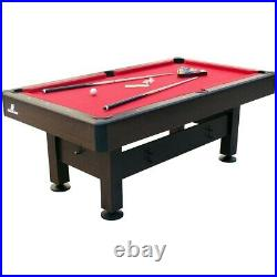 American 6ft Pool Table With Accessories