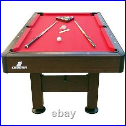 American 7ft Pool Table With Accessories