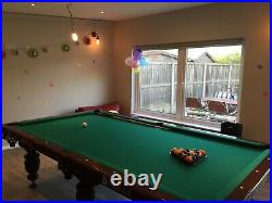 American Pool Table 9 Ft with Accessories