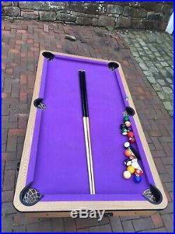 BCE 5ft Pool Table With All Accessories
