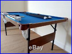 BCE Table Sports 6ft Pool/Snooker Table (With Accessories)