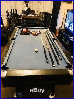 BCE Table Sports 6ft x 3ft Pool Table With Auto Ball Return & All Accessories