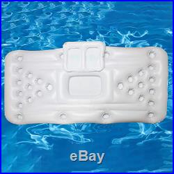 Beer Pong Pool Inflatable Barge Floating Table Cooler Equipped Parties Accessory