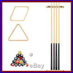 Billiard Accessories Set Pool Cue Snooker Table Ball Kit Indoor Game 32 Piece