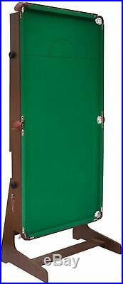 Billiards Snooker Pool Table With Balls Folding 6FT Games Green With Accessories