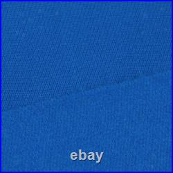 Blue Worsted Pool Table Cloth 9ft Table Fast Billiard Felt with Strips