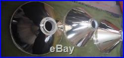 Brass Snooker or Pool Table Light Rail with 3 Brass Shades QTY 3