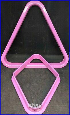 Breast Cancer Awareness Pool Table Accessory set