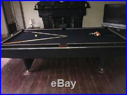 Brunswick Crown Gold IV Pool Table 9ft