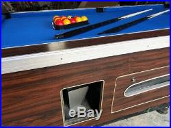 CLASSIC ELITE 7' SLATE POOL TABLE With Recover and Accessories SUPERPOOL